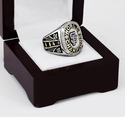 2010 San Francisco Giants MLB World Series Baseball Championship Ring Size 10-13 With High Quality Wooden Box Fans Best Gift(China (Mainland))