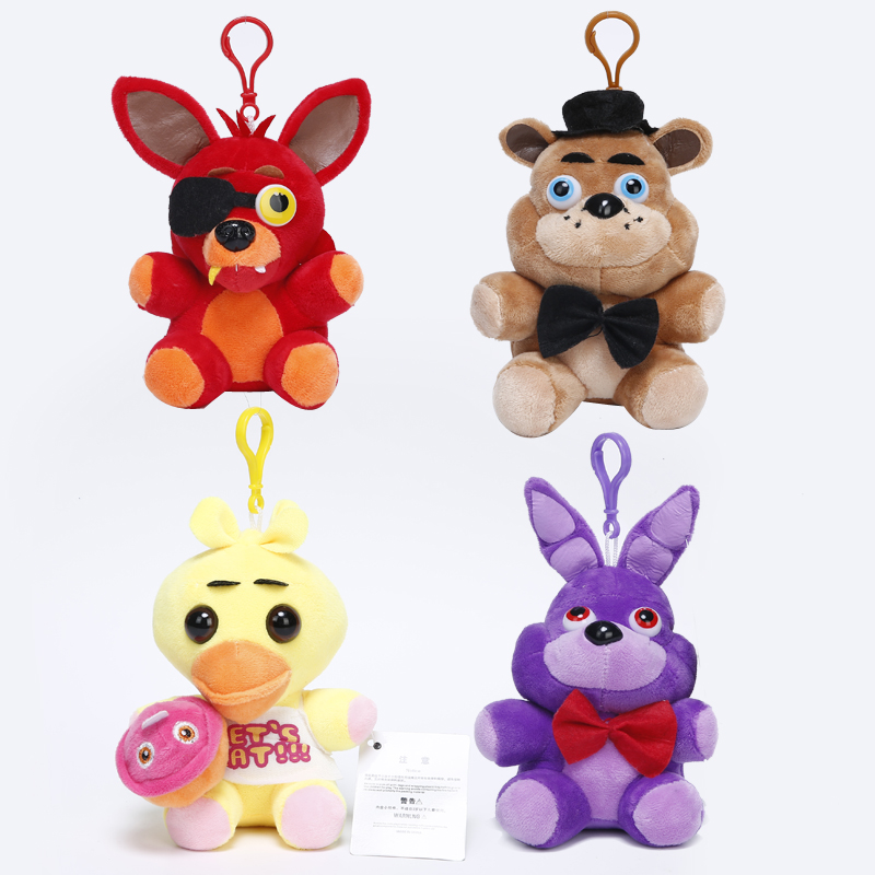 Fnaf foxy freddy fazbear bear bonnie rabbit chick duck stuffed animal