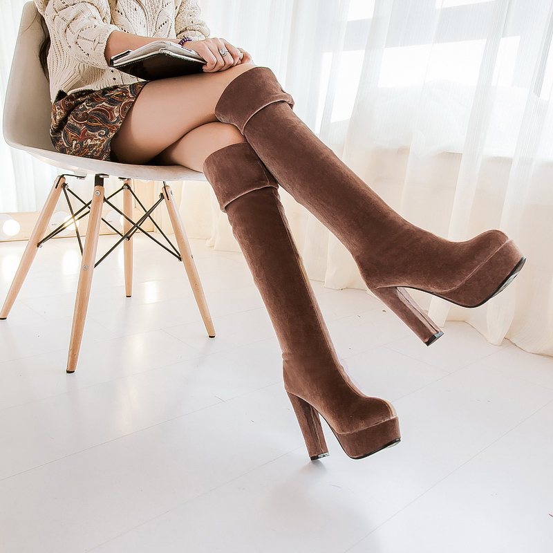 Free Shipping size 34-43 Hot Sale 2016 Autumn/Winter Boots Women Boots Casual Fashion Stylish Women Boots Womens Shoes<br><br>Aliexpress