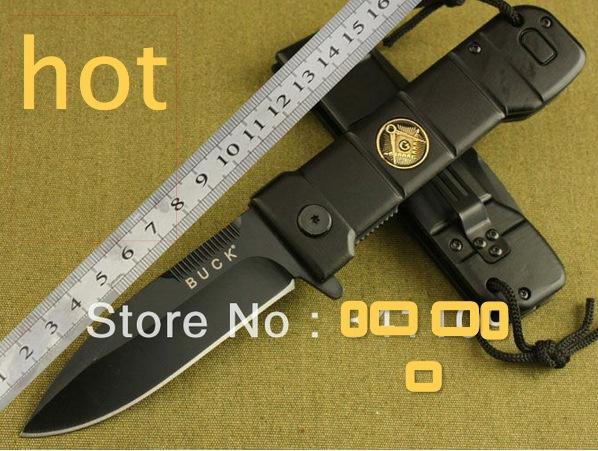 Free shipping BUCK Knives B35 tactical folding blade knife outdoor hunting camping combat pocket knife(China (Mainland))