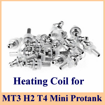 2 MT3 Mini protank H2 T4 Heating Coil Head Replacement Coils 2.4ohm Bottom Atomizer Core - Oplus store