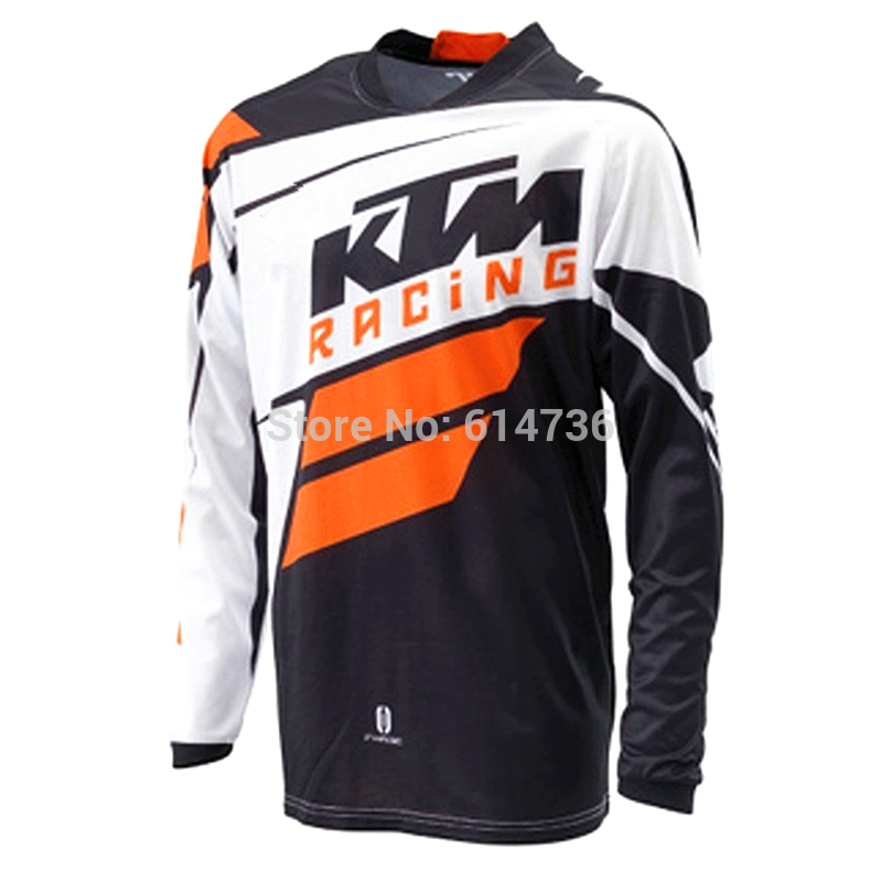 100% polyester KTM motorcycle jersey Quick dry motorbike racing wear mens cycling shirts KTM Motocross Jerseys M-XXL<br><br>Aliexpress