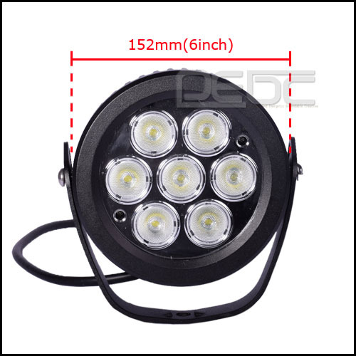 Eyourlife 6inch 70W CREE round  Flood LED Driving Light 7000LM 4X4WD SUV Offroad Boat Truck for JEEP Waterproof<br><br>Aliexpress