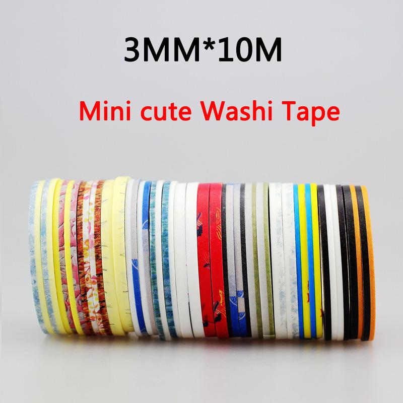 NEW !!! Hot sale 10pcs set slim japanese washi tape flower diy Japanese Paper Washi Tape(China (Mainland))