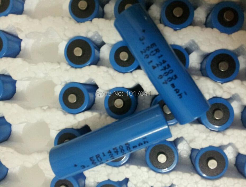 ER14505 - AA 3.6 Volt 2400mAh Li-SOCl2 Lithium Battery Cell<br>