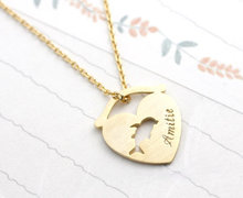 2015 Gold Silver Punk Jewlery Amitie Dolphin In The Fish Bowl Statement Stainless Steel Chain Necklace