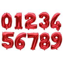 32 Inch Besar Foil Balon Ulang Tahun Air Helium Nomor Balon Angka Pesta Ulang Tahun Dekorasi Anak Baloons Ulang Tahun Balon(China)