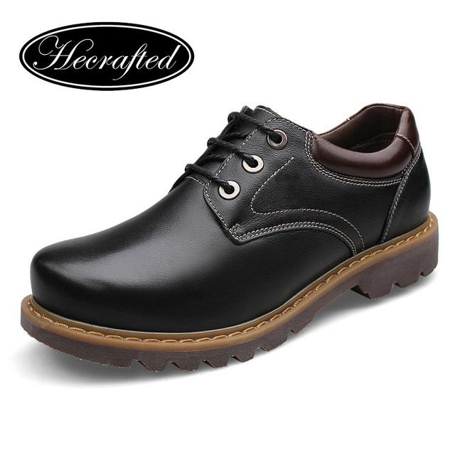 Размер 37 ~ 47 кожа мода мужчины кожаные сапоги, Высокое качество ручной мужской ...