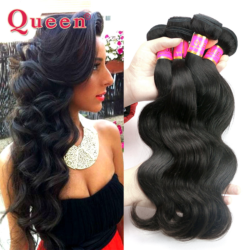 Brazilian Virgin Hair 4 Bundles Queen Weave Beauty Brazilian Body Wave Human Hair Extensions Black Friday Natural Hair Sales<br><br>Aliexpress