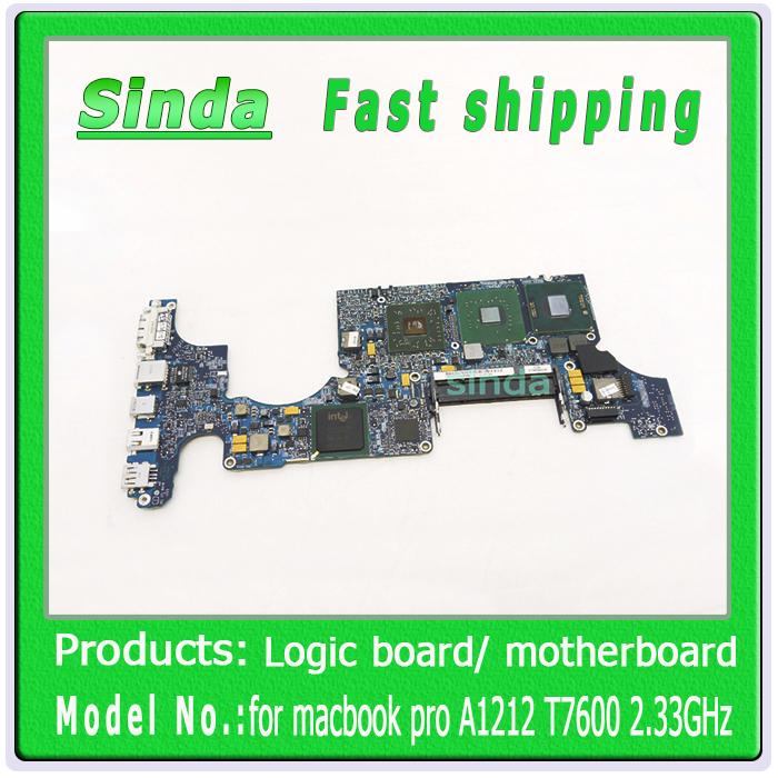 """820-2059-A 17"""" Core 2 duo T7600 2.33Ghz for macbook pro A1212 MA611 motherboard late 2006(China (Mainland))"""