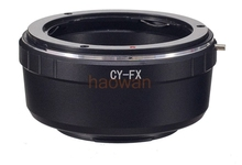 Buy Contax Yashica CY C Y mount lens adapter ring Fujifilm fuji FX X X-E2/X-E1/X-Pro1/X-M1/X-A2/X-A1/X-T1 xpro2 camera for $10.50 in AliExpress store