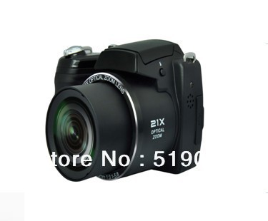 Free Shipping,DSL digital camera newest Digital single Iens reflex with Sony 16.0MP CMOS sensor+8G SD card DC-2100(China (Mainland))