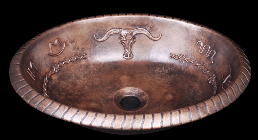 Aged Finished Classical Decorative Oval Drop-In Bronze Sink Bowl Luxury Construction Bathroom Copper Basin Brass(China (Mainland))