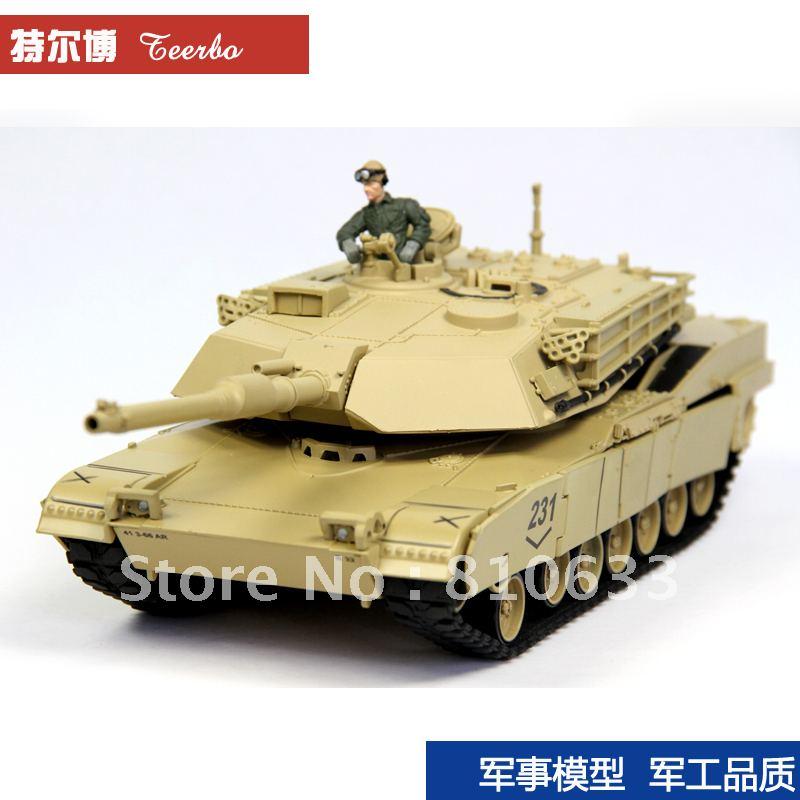 free Shipping M1A1 model metal tank toyshop(China (Mainland))