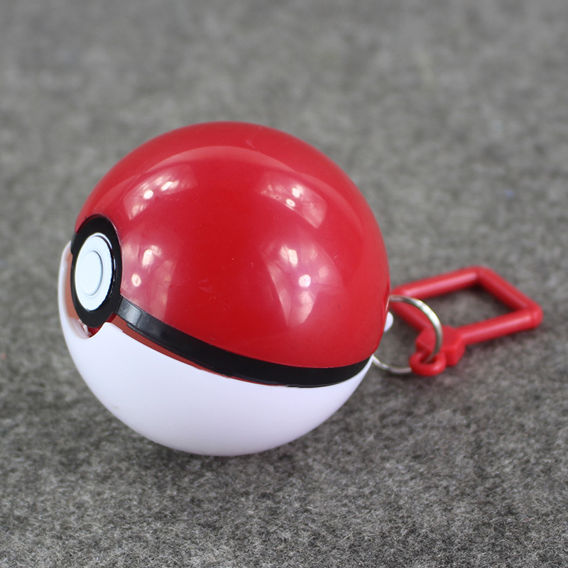 3pcs/lot poke ball pokeball pvc keyring keychain pendant figure toy(China (Mainland))