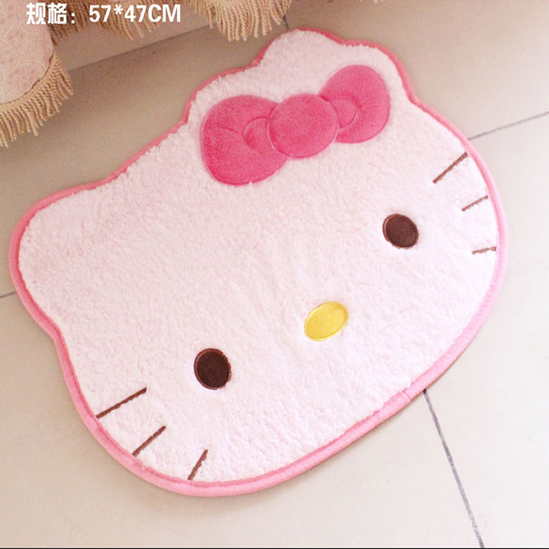 Buy 57 47cm Hello Kitty Bathroom Carpet Living Room Bedroom Mat For Kids Room