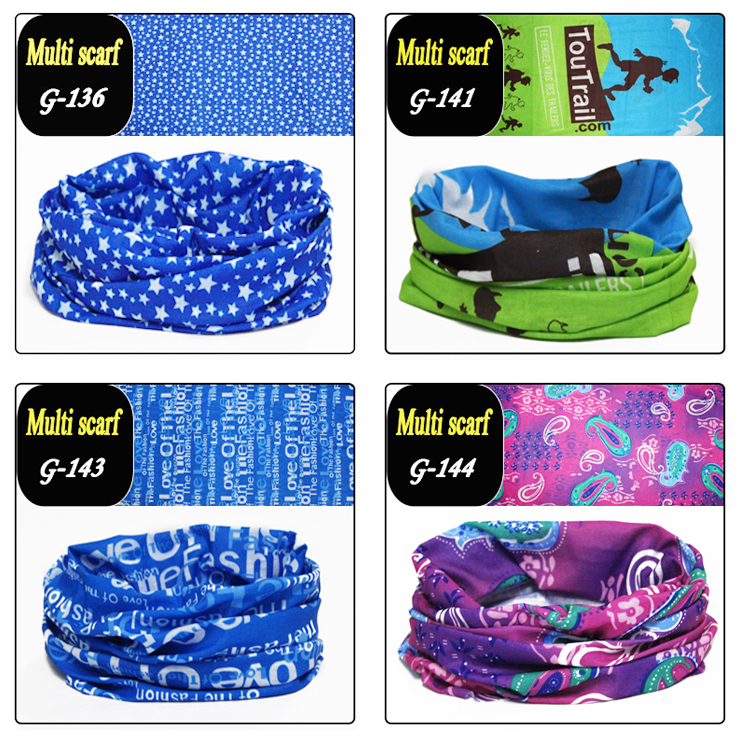 2014 NEW Bicycle bandanas washouts seamless ride Mask Turban magic scarf for women men sunscreen muffler sport Headband 150style(China (Mainland))