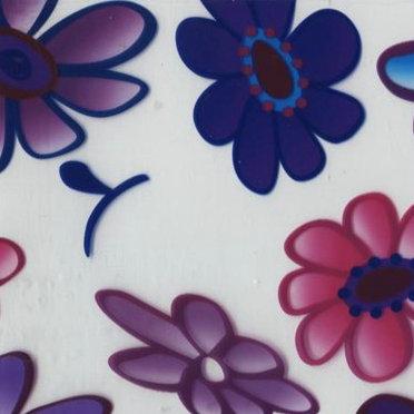 WDFH06-5 Flower pattern 50Squar meters liquid image film Width 50cm hydro graphic film(China (Mainland))