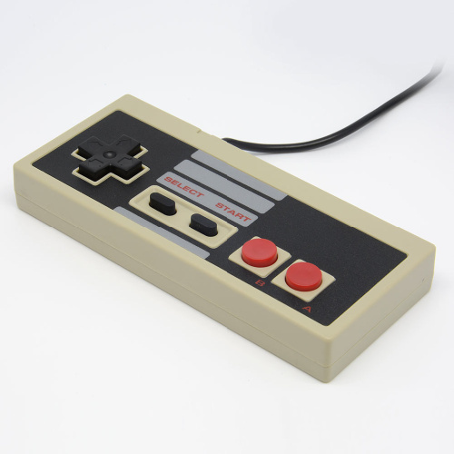 Hot 8 Bit Gaming Controller Gamepad For Nintendo NES System Console Classic 6ft Free shipping(China (Mainland))