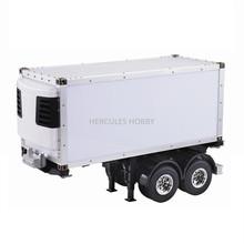 [HERCULES HOBBY] TAMIYA 1 14 Scale RC Model Tractor Trucks Trailer 20 Foot Reefer Made in China (China (Mainland))