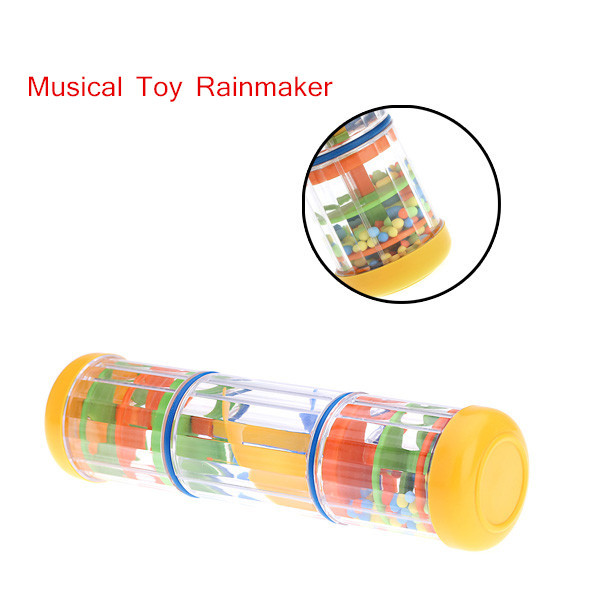 """Hot sale Popular Music Toy Instrument 8"""" Rainmaker Tube Shaker Gift for Toddler Kids Games KTV Party free shipping(China (Mainland))"""