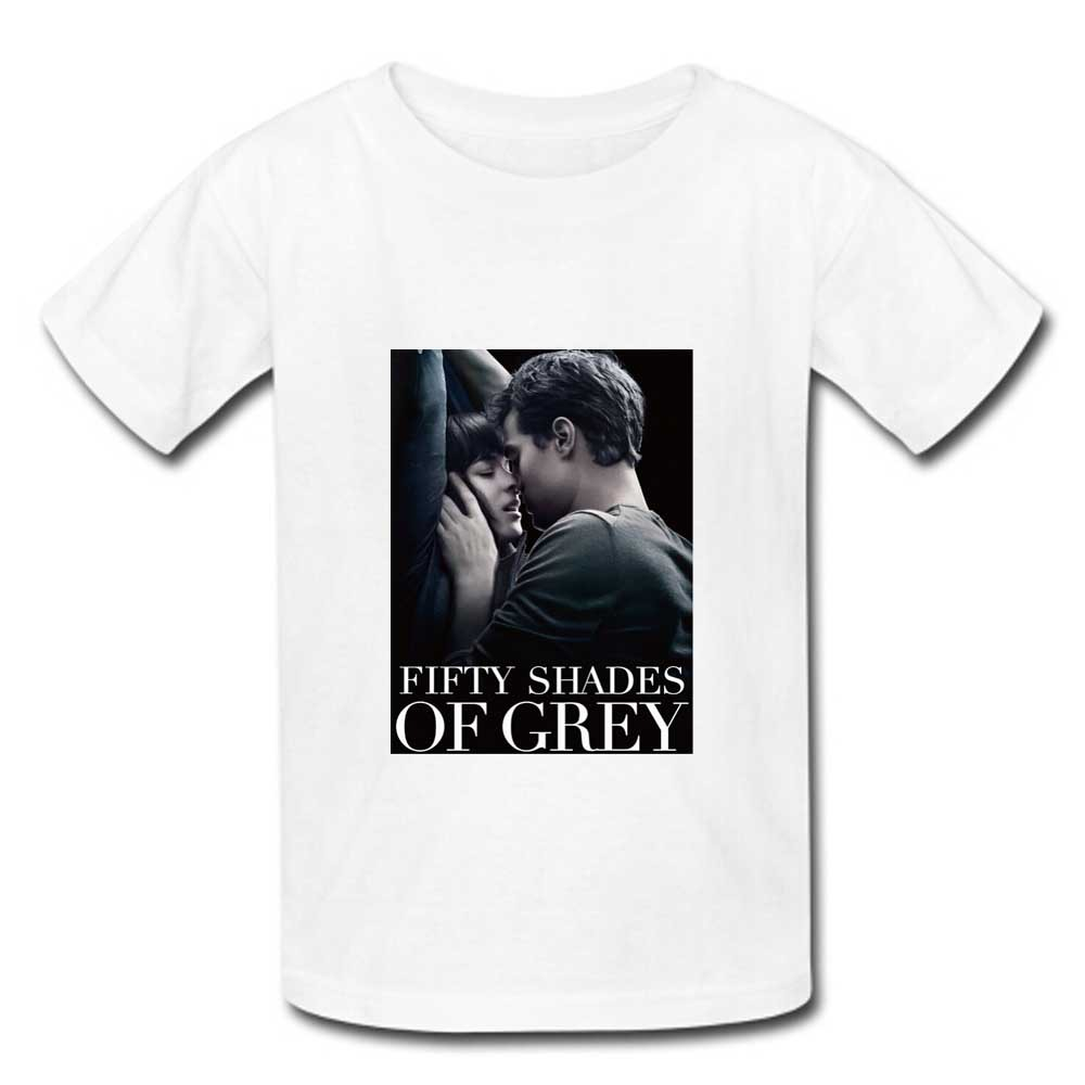 M-XXXL 2015 Summer Fifty Shades of Grey Movie New Novelty Cotton T-Shirts Men Short Sleeve Man Student Causal Streetwear(China (Mainland))