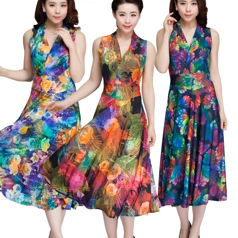 -robe-imprimé-Floral-robes-col-v-sans-manches-Wrap-robe-Fit-et.jpg