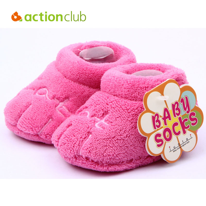 New Soft Coral Fleece Baby Shoes Cotton Baby Girls Boys First Walker Plush Slippers Multicolor Toddler Shoes Newborns Footwear(China (Mainland))
