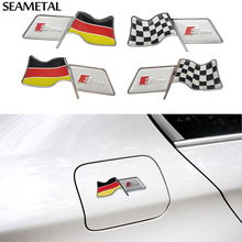 Audi RS TT S3 S4 S6 A4 A6 A8 Q3 Q5 Q7 Car Fender Tank Stickers Cover Decal S-Line External Decoration Accessories Styling - Auto Nightwish store