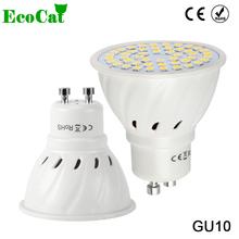 Buy ECO CAT Lampada LED Lamp GU10 220V 3W 5W 7W 9W 5050 2835 SMD Ampoule LED Spotlight Bombillas LED Bulb Spot light Candle Luz for $1.14 in AliExpress store