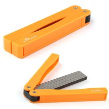Hot sellingTAIDEA T1051D Two Sided Diamond Tools Knife Sharpener 360/600grit Outdoor New(China (Mainland))