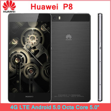 ZK3 Original Huawei P8 4G LTE Mobile Phone Android 5.0 Octa Core 3GB RAM 64GB ROM 5.2″ FHD 13MP 1080P Dual SIM Smartphone