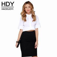HDY Haoduoyi European OL women blouse and shirt women