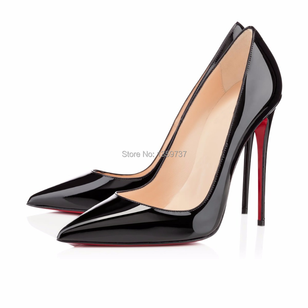 Patent Red High Heels