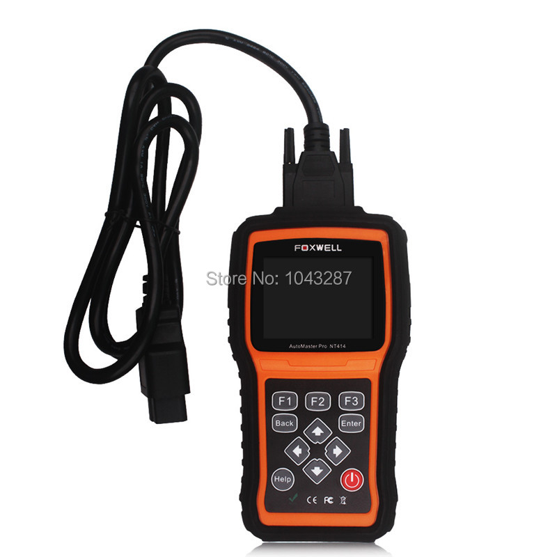 Foxwell NT414 Four System Diagnosis Scan Tool Engine ABS Airbag Reset Universal Automotive Scanner Cheap than MD802