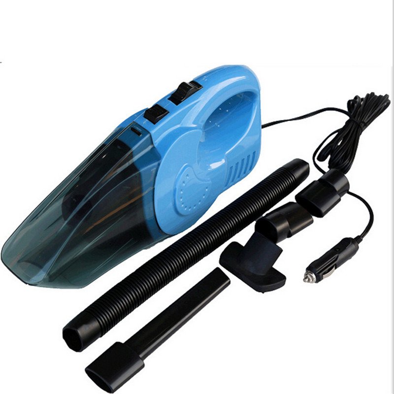 Portable Car Vacuum Cleaner 5M DC12V Wet&Dry Dual-use Low Noise Super Absorb Waste Fashion Upgraded Car Vacuum Cleaner CV006(China (Mainland))