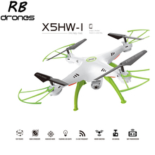 X5HW-1 WIFI FPV RC Drone With 2MP HD Camera 2.4G 4CH 6 Axis RC Quadcopter Real Time Video RC Toys Syma X5SW X5HW Update vision