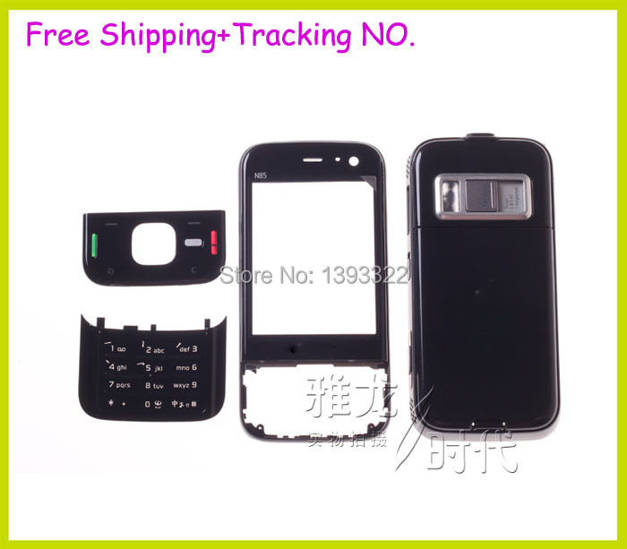 for Nokia n85 Housing original new complete full housing+keyboard, Free Shipping(China (Mainland))