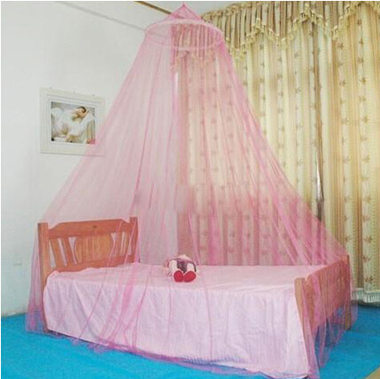 2015 New Round Lace Curtain Dome Bed Canopy Netting Princess Mosquito Net Dome Elegent Lace Bed Netting Canopy Mosquito Net(China (Mainland))