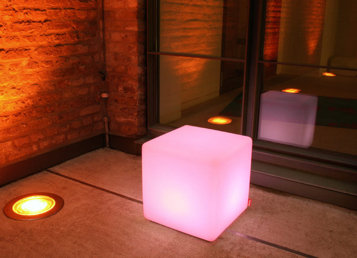 40cm LED Cube LED Cube Chairs Light Cubein LED Table