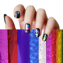4cm*30cm Transfer Foil Nail Art Star Design Sticker Decal For Polish Care DIY Free Shipping Colorful Nail Art