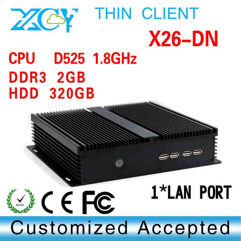 Desktop computers thin client linux hdmi industrial pc x26-DN 2GB RAM 320G HDD support Windows 95,Windows 2000,WIN7 etc.<br><br>Aliexpress