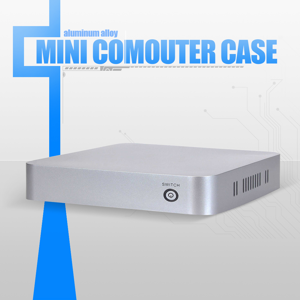 XCY l-19 computer cabinet pc case itx case support USB Port/switch /power for hot sale(China (Mainland))