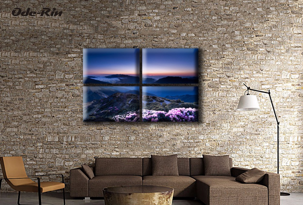 European Mediterranean landscape painting painting The sitting room dining-room the bedroom hangs a picture frameless paintings(China (Mainland))