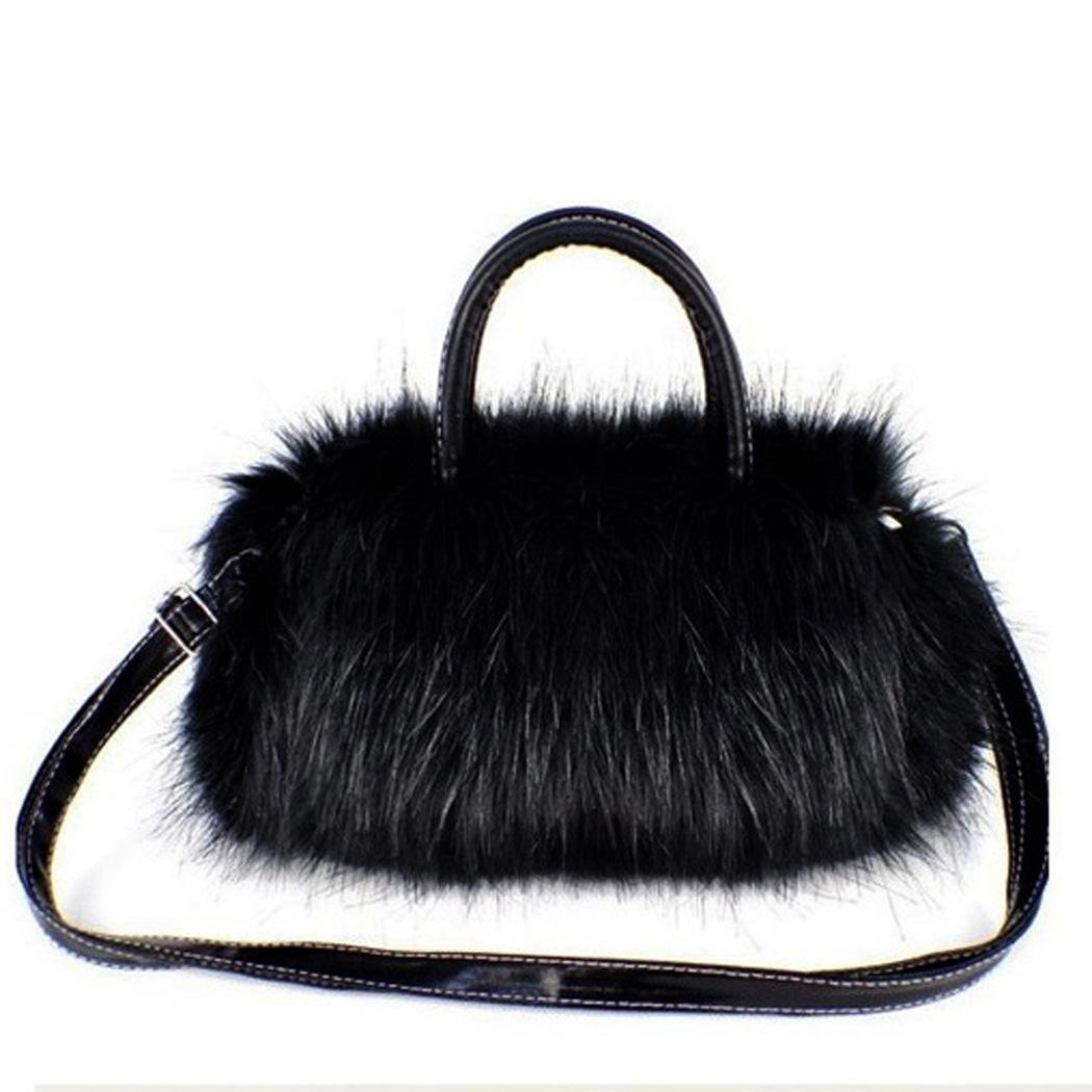 TOYL famous brand designer handbags women bags Faux Rabbit Fur bags Small Messenger Bag for Women Crossbody Shoulder Bags(China (Mainland))