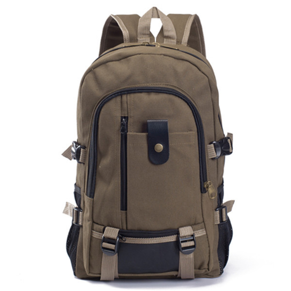 N9 New Arrival Vintage Style Backpacks Natural Color Outdoor Design School Backpacks Casual Backpack for