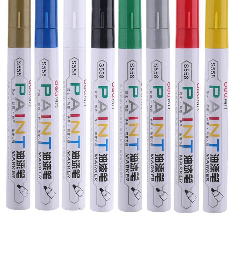 3x White Gel Ink Marker Pen Drawing Sketching Painting Art Fine Tip Pens Set US