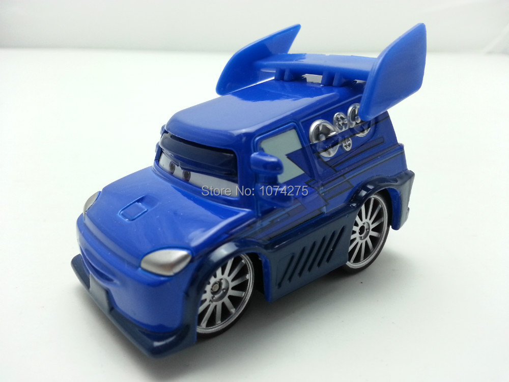 Pixar Cars DJ Metal Diecast Toy Car 1:55 Loose Brand New In Stock & Free Shipping(China (Mainland))