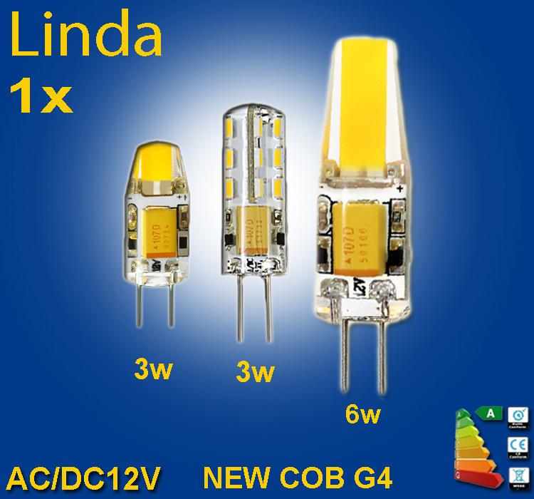 2015 new DC AC 12V g4 12v  COB Led bulb Lamp SMD 3014 3W 6W Replace 20w 40w halogen lamp light 360 Beam Angle luz lampada led(China (Mainland))