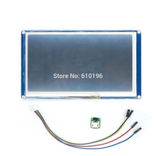 "English Version Nextion 7.0"" HMI Intelligent LCD Tough Screen Module Display for Arduino LCD TFT Raspberry Pi ESP8266(China (Mainland))"